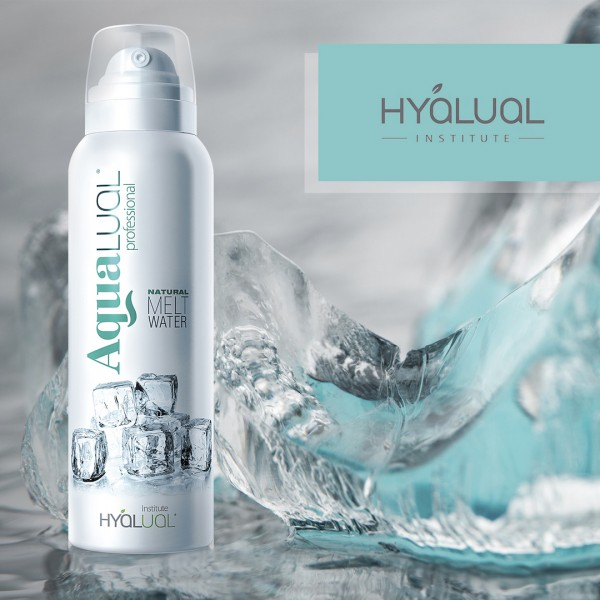 HYALUAL Aqualual Спрей для лицана основе талой воды 150 мл. картинка