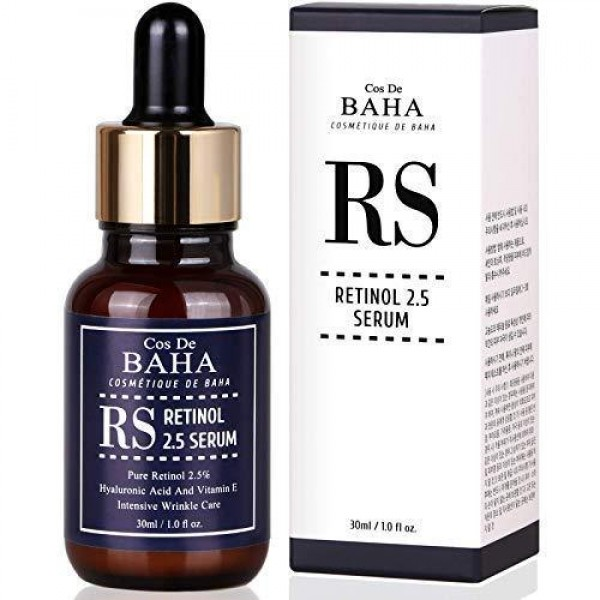 Сыворотка с ретинолом Cos de Baha 2.5 Retinol Serum with Vitamin E & Hyaluronic, 30 мл картинка