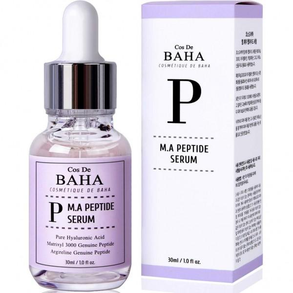 Пептидная сыворотка Cos De Baha M.A Peptide Serum Matrixyl 3000 & Argireline, 60 мл картинка