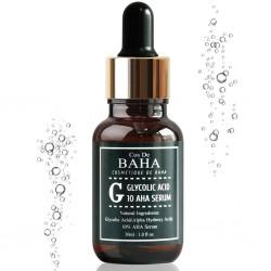 Сыворотка с гликолевой кислотой Cos de Baha 10% Glycolic Serum Gel Peel AHA, 30 мл
