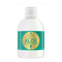 Увлажняющий шампунь с  алоэ вера Kallos Aloe
