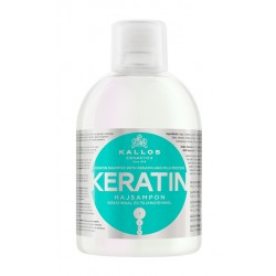 Шампунь для волос с кератином Kallos KERATIN