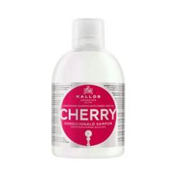 Шампунь-кондиционер с маслом вишневой косточки Kallos Cherry 1000мл