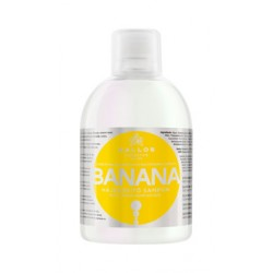 Шампунь для укрепления волос с мультивитаминным комплексом Kallos Banana Shampoo