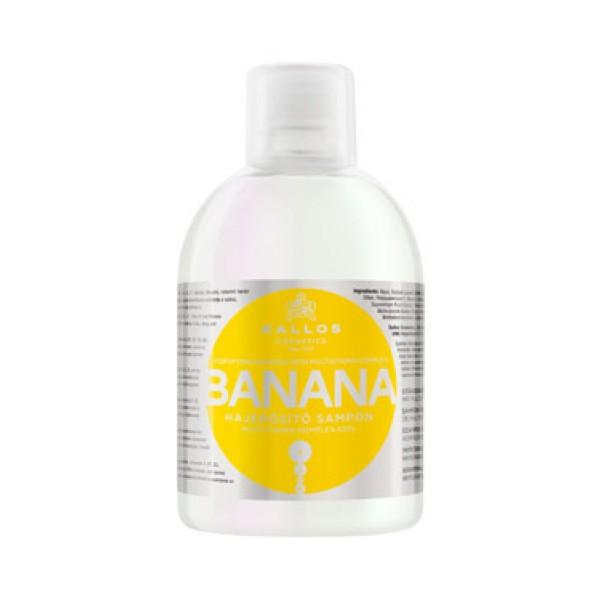 Шампунь для укрепления волос с мультивитаминным комплексом Kallos Banana Shampoo картинка