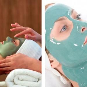 Настоящее счастье с Альгинатной маской для лица