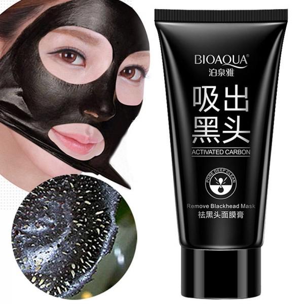 Черная маска-пленка BIOAQUA Black Mask Activated CarbonЧерная маска-пленка BIOAQUA Black Mask Activated Carbon картинка