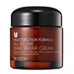 Улиточный крем для лица  Mizon All In One Snail Repair Cream картинка 1