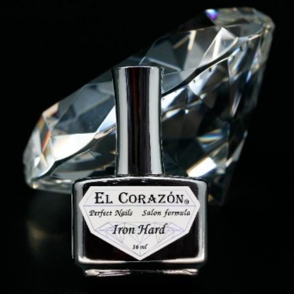 Лечебный лак для ногтей Железная твердость Iron Hard El corazon №418 картинка