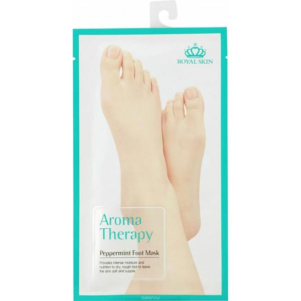 Маска для ног с экстрактом мяты ROYAL SKIN Aromatherapy peppermint foot mask картинка