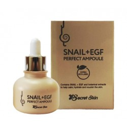 Сыворотка для лица с муцином улитки Secret Skin Snail+EGF Perfect Ampoule
