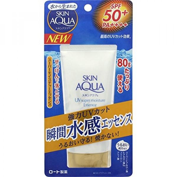 Солнцезащитная увлажняющая эссенция Skin Aqua Super Moisture Essence SPF 50 + / PA ++++ картинка