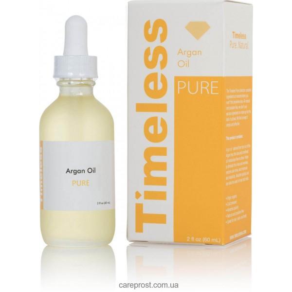 Аргановое масло 100% argan oil 100% pure Timeless Skin Care, 60 мл картинка