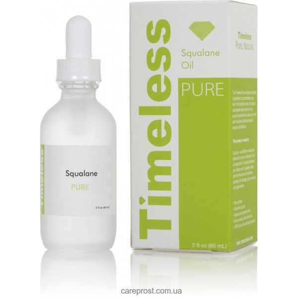 Сквален (Сквалан) натуральный 100% Timeless Skin Care фото картинка