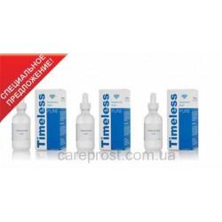 Timeless Skin Care Сыворотка с гиалуроновой кислотой , 1% HA  3 флакона по 60 мл