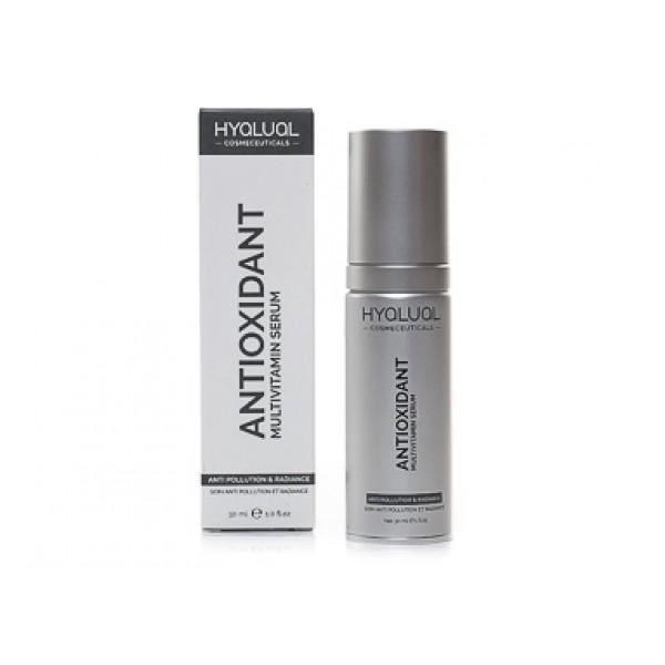 Сыворотка мультивитаминная с мощной антиоксидантной защитой Hyalual Antioxidant Multivitamin Serum 30 мл картинка