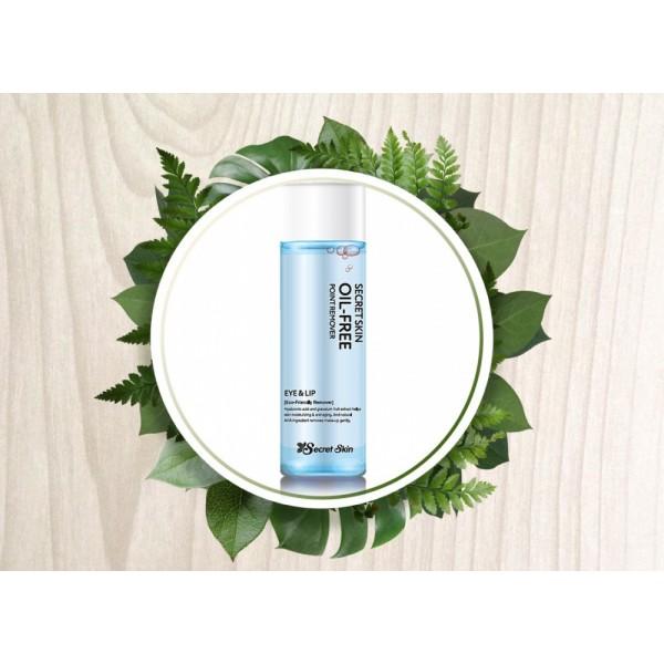 Жидкость для снятия макияжа с глаз и губ Secret Skin Oil-Free Point Remover Eye & Lip картинка