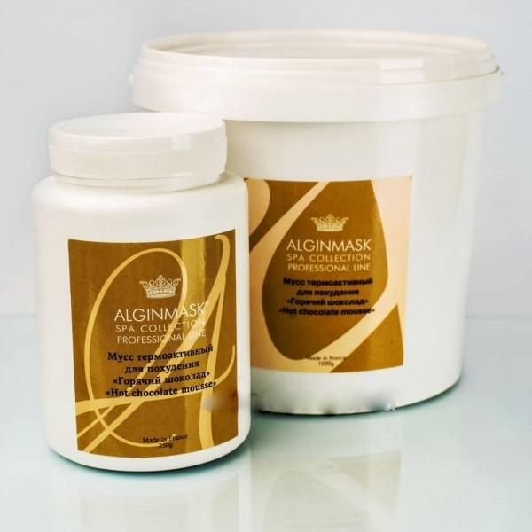 Мусс термоактивный для похудения тела «Hot chocolate mousse» ALGINMASK 1000ml картинка