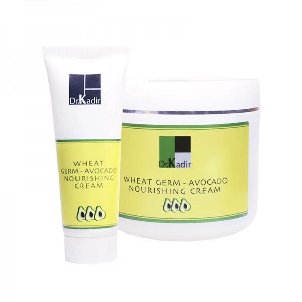 DR.KADIR Wheat Germ Oil & Avocado Nourishing Cream - Питательный крем с маслом зародышей пшеницы и авокадо, 75 мл картинка
