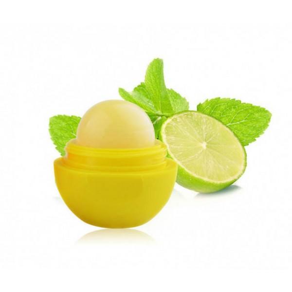 Фруктовый бальзам для губ (Лимон - салатово-желтый) картинка