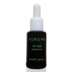 Антивозрастное масло-энергетик для зрелой кожи / 30 мл - Purophi