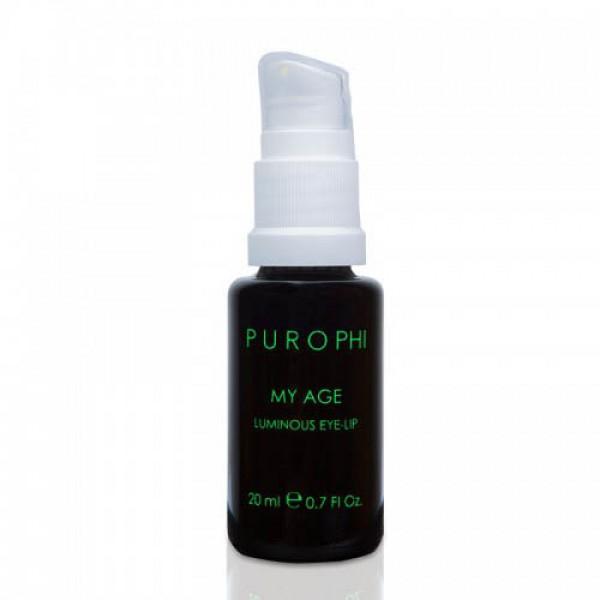 Антивозрастное средство для кожи вокруг глаз и губ / 20 мл - Purophi картинка