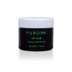 Антивозрастной крем для нормальной и сухой кожи / 50 мл - Purophi