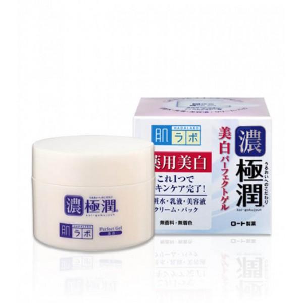 Отбеливающий гиалуроновый гель для лица с арбутином HADA LABO Koi-Gokujyun White картинка