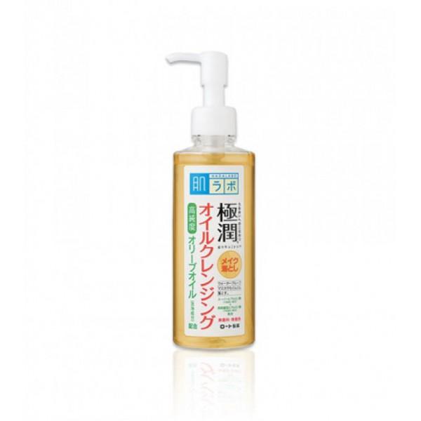 Гидрофильное масло с гиалуроновой кислотой HADA LABO Gokujyun Cleansing Oil  картинка