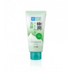Лечебная пенка для умывания кожи склонной к акне Hada Labo Gokujyun Hatomugi Face Wash