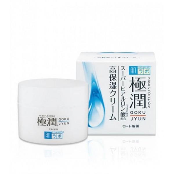Гиалуроновый крем HADA LABO Gokujyun Hydrating Cream картинка крема