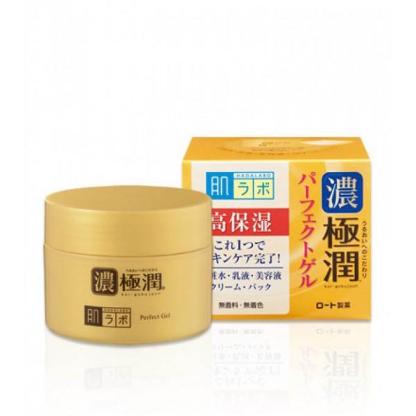 Премиум гиалуроновый гель для лица HADA LABO Koi-Gokujyun Perfect Gel  картинка