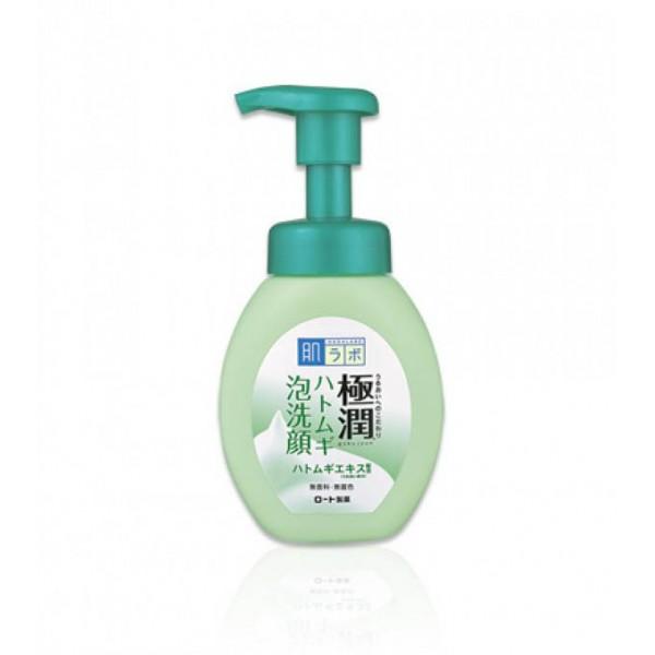 Лечебная пенка для проблемной кожи HADA LABO Gokujyun Hatomugi Foaming Face Wash картинка