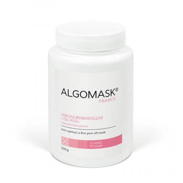 ОМОЛАЖИВАЮЩАЯ «ЛА-РОЗ» альгинатная маска, ALGOMASK,  картинка