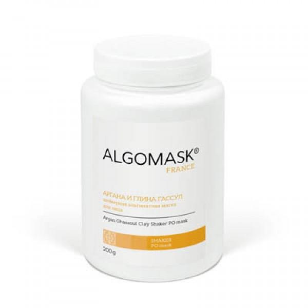 АРГАНА И ГЛИНА ГАССУЛ шейкерная альгинатная маска для лица, ALGOMASK, 200 г картинка