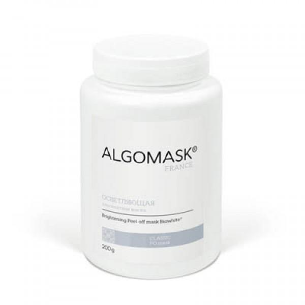 ОСВЕТЛЯЮЩАЯ альгинатная маска для лица  ALGOMASK, 200 г  картинка