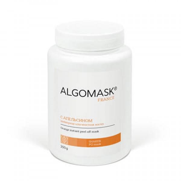 С АПЕЛЬСИНОМ шейкерная альгинатная маска ALGOMASK, 200 г   картинка