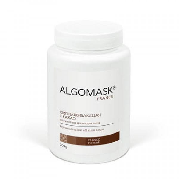 ОМОЛАЖИВАЮЩАЯ С КАКАО альгинатная маска для лица ALGOMASK, 200 г   картинка