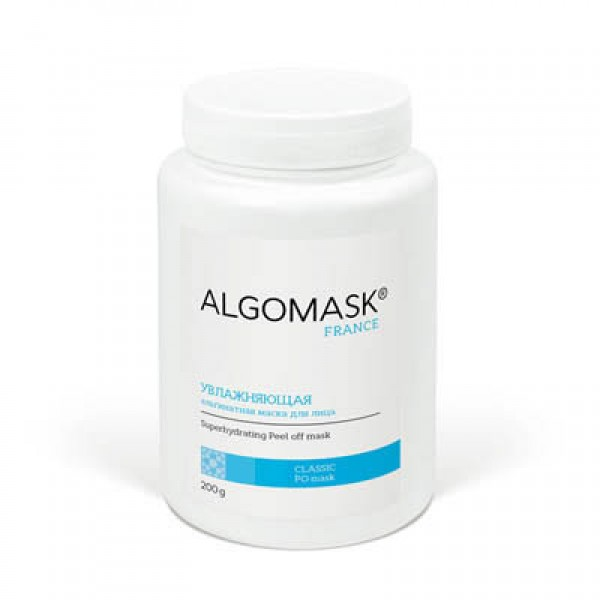 УВЛАЖНЯЮЩАЯ альгинатная маска для лица ALGOMASK, 200 г   картинка