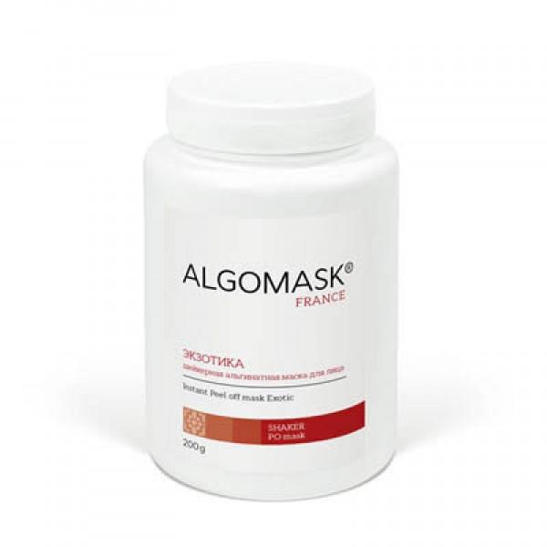 ЭКЗОТИКА шейкерная альгинатная маска для лица ALGOMASK, 200 г   картинка