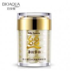 Крем для лица из серии «Silk protein» 60г