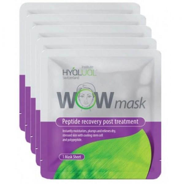 Гидрогелевая маска Гиалуаль Hyalual® WOW mask-1 штука картинка