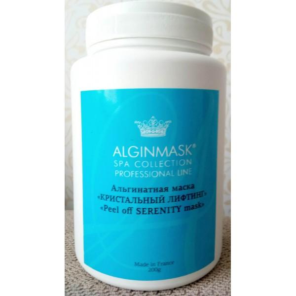 """Альгинатная маска """"Кристальный лифтинг"""" Alginmask 200g картинка"""
