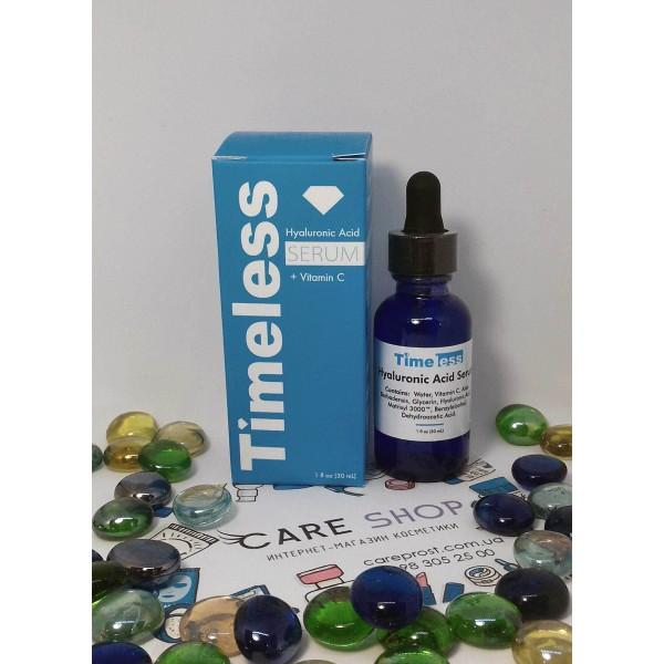 Timeless Skin Care Сыворотка с гиалуроновой кислотой и витамином С, 30 мл картинка