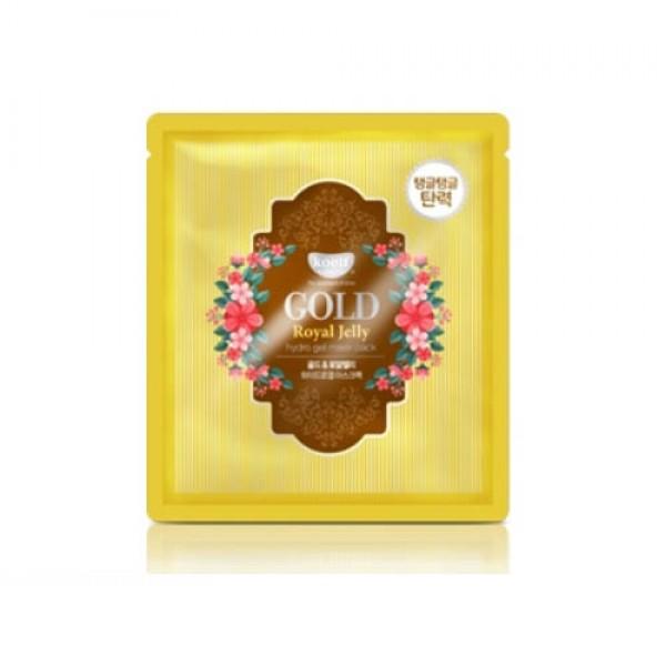 Гидрогелевая маска для лица с золотом и маточным молочком KOELF Gold & Royal Jelly Mask картинка