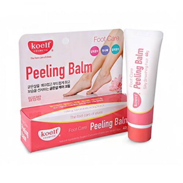 Пилинг-бальзам для грубой кожи ног, рук, локтей KOELF Peeling Balm картинка
