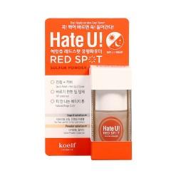 Средство от высыпаний и покраснений Koelf Hate U Red Spot Sulfur Powder 15ml