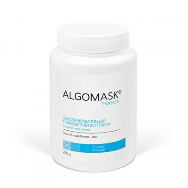 Альгинатная маска омолаживающая с эффектом Ботокса, Algomask 200 г картинка