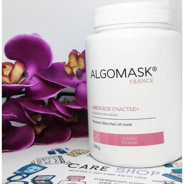 Альгинатная маска против старения кожи лица «Женское счастье» ALGOMASK, 200 г картинка