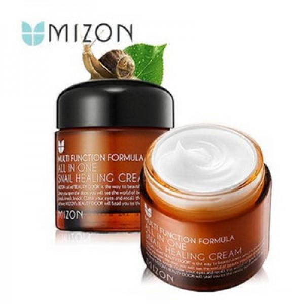 Улиточный крем для лица  Mizon All In One Snail Repair Cream картинка